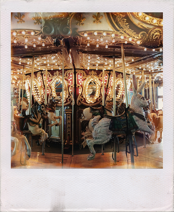The beautiful restored carousel at Keansburg, NJ.