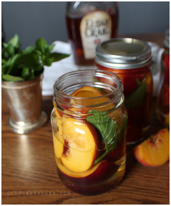 Mint julep peaches! #sweetpreservation