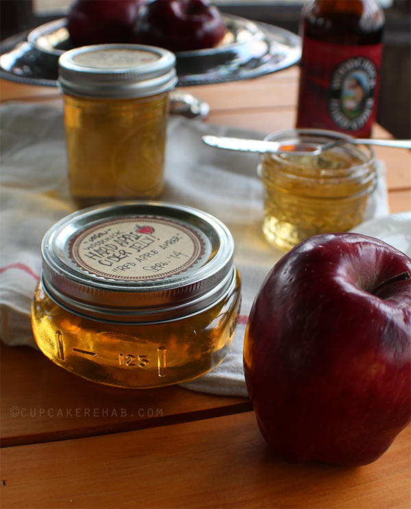 Woodchuck hard apple cider jelly!
