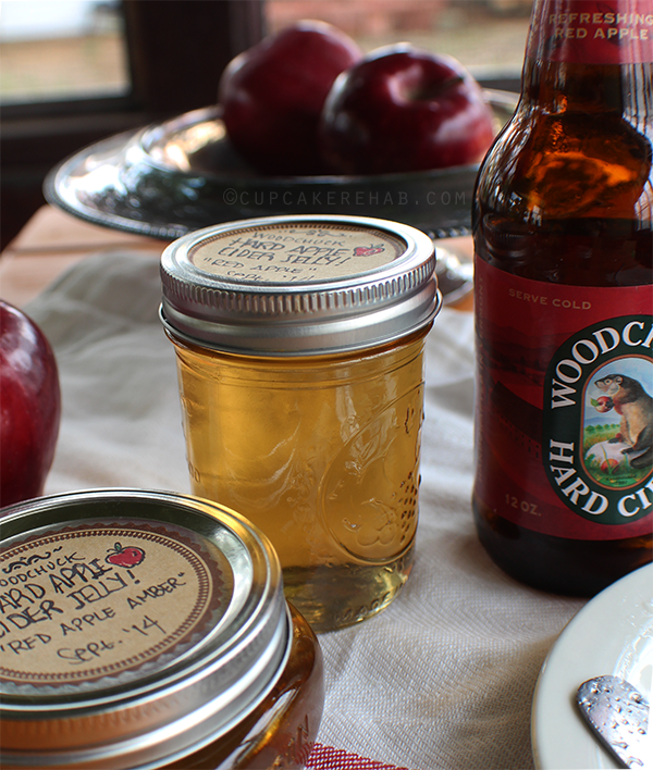 Woodchuck hard apple cider turned into jelly.
