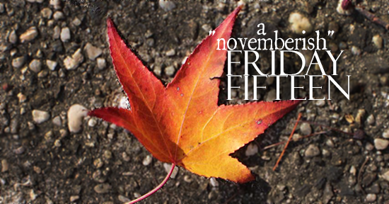 A Novemberish Friday Fifteen