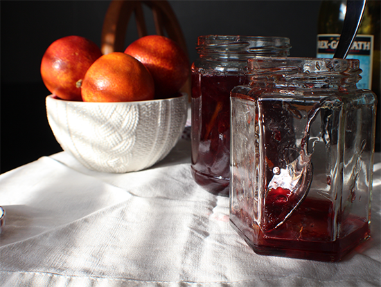 Red wine blood orange marmalade.