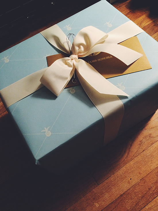 A gift!