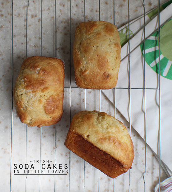 Irish soda cake loaves.