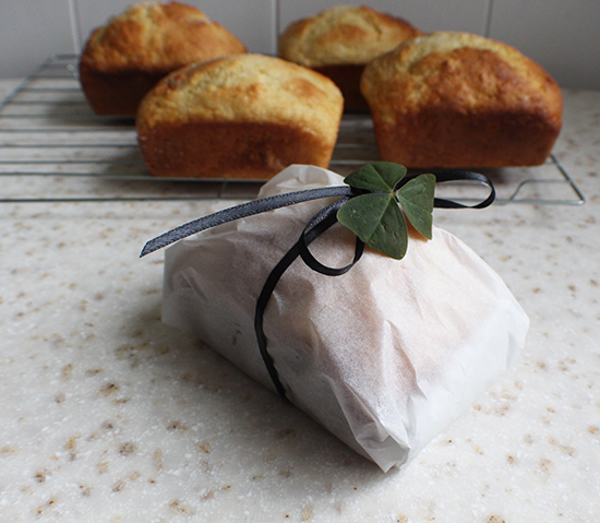 Little Irish soda cake loaves.