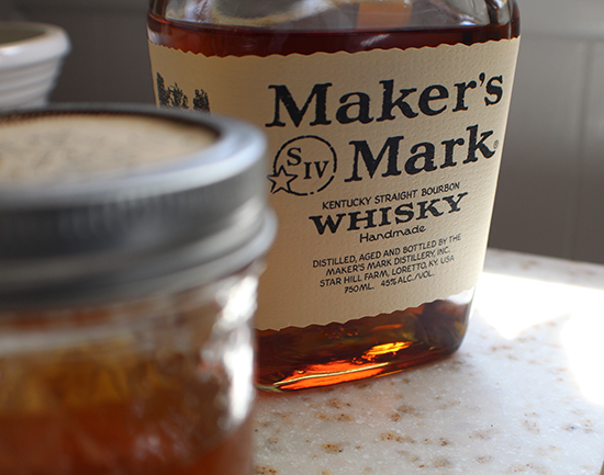 Bacon fat-infused Maker's Mark bourbon.