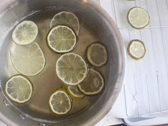 Candied limes.