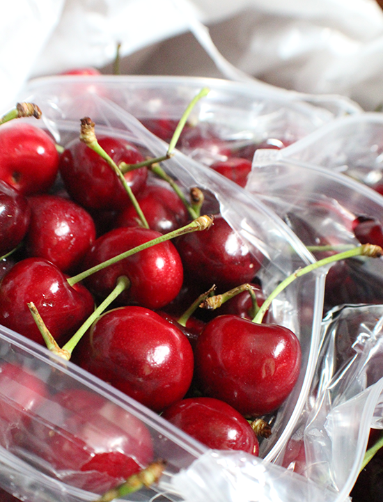 Fresh Rainier Co. cherries, ready to be canned! #sweetpreservation