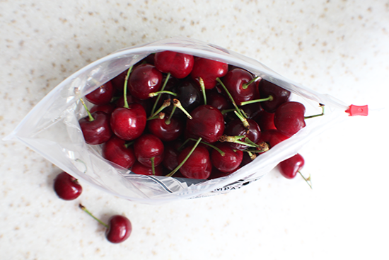 Rainier Co. cherries, going in a light almond-y syrup. #sweetpreservation