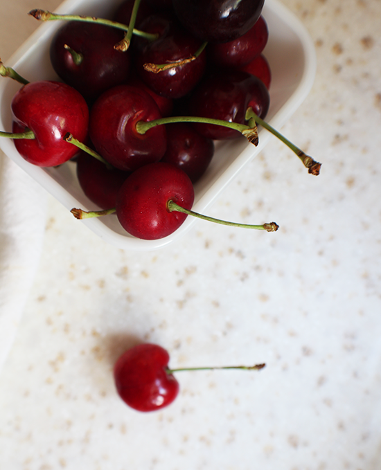 Rainier Fruit Co. cherries! I put 'em into some green tea + jasmine cherry preserves!