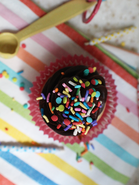 It's Cupcake Rehab's 8th birthday! Make these adorable vanilla cupcakes for two.
