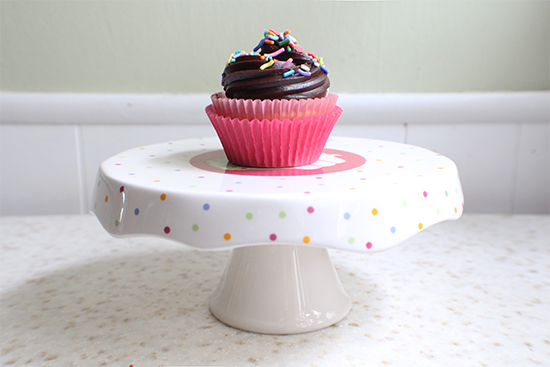 Happy birthday Cupcake Rehab! Celebrating with a recipe for cupcakes for two!