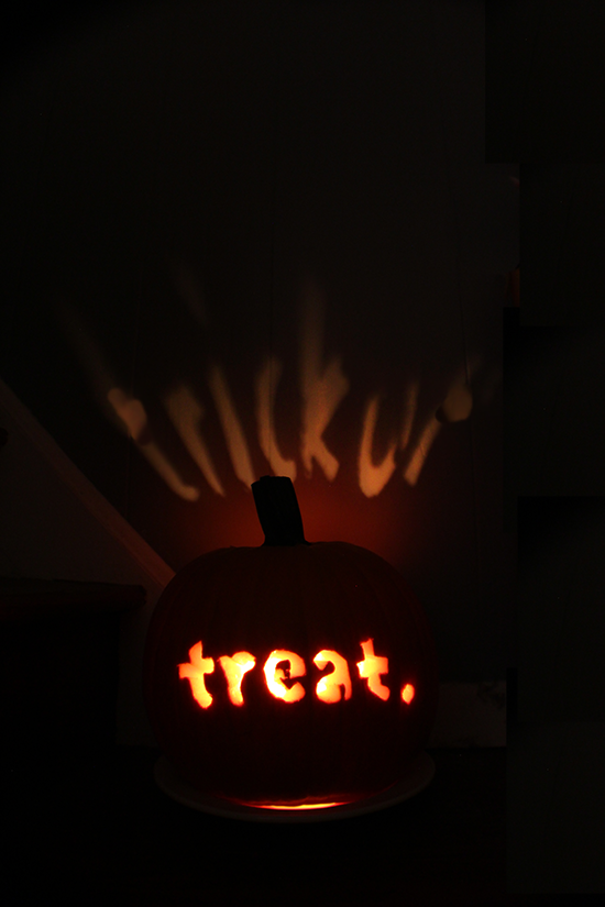 Trick or.... treat.