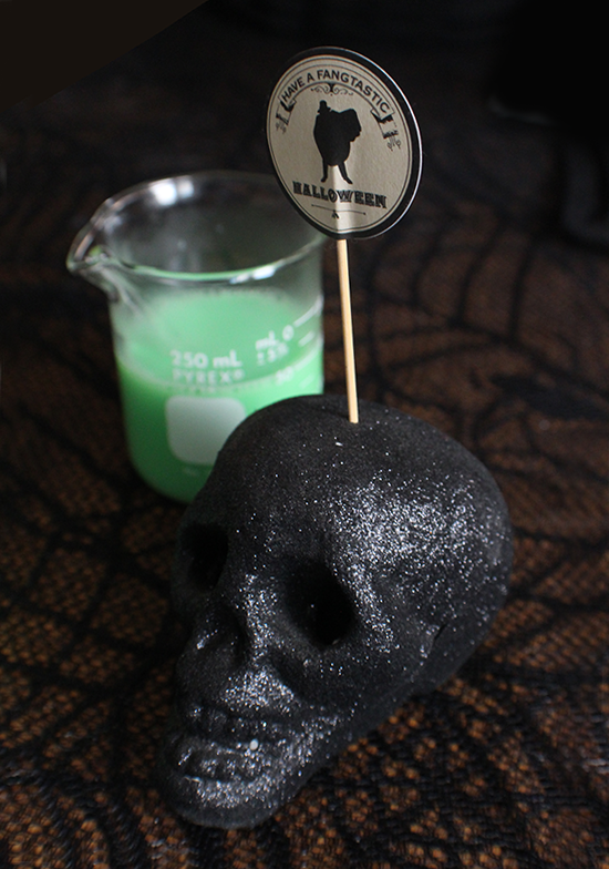 Mad Scientist's Mocktail, Frankenstein's Brew... whatever you want to call it, it's awesome. And easy!