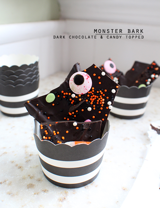 Monster bark for Halloween!