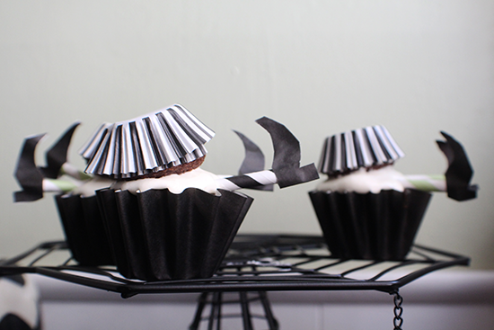 Wicked witch of the cupcakes!