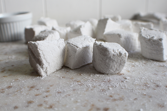 Bourbon vanilla marshmallows.