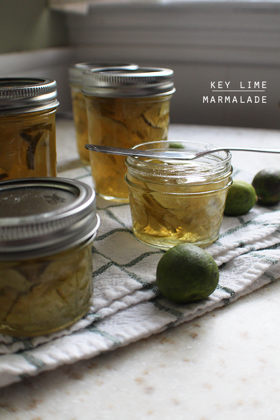 Key lime marmalade.