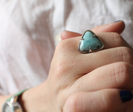 Larimar. My new fave.